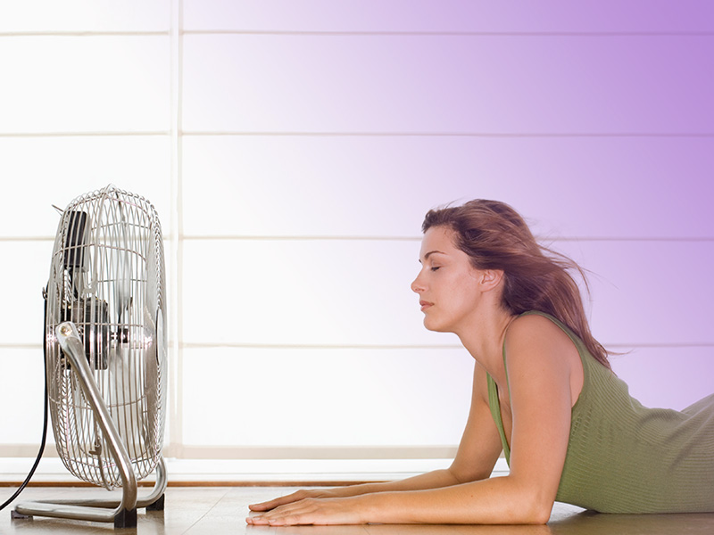 Sofocos tempranos: la menopausia precoz.